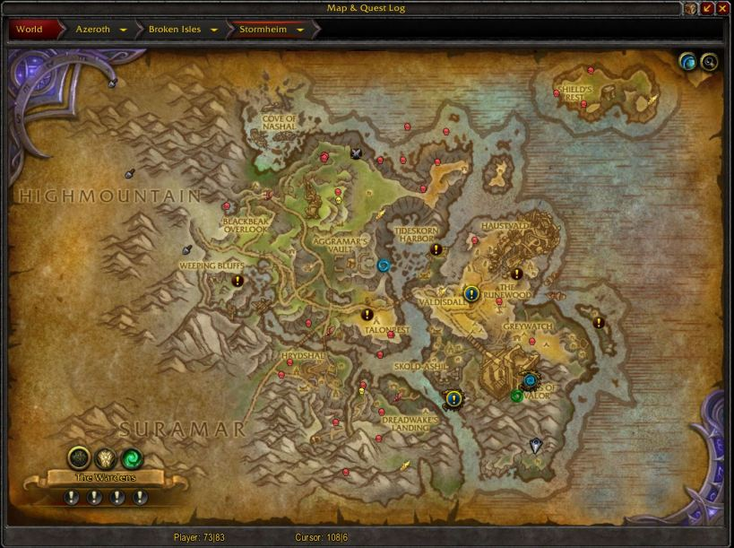 bulvinkle map