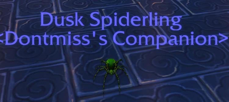 dusk spiderling