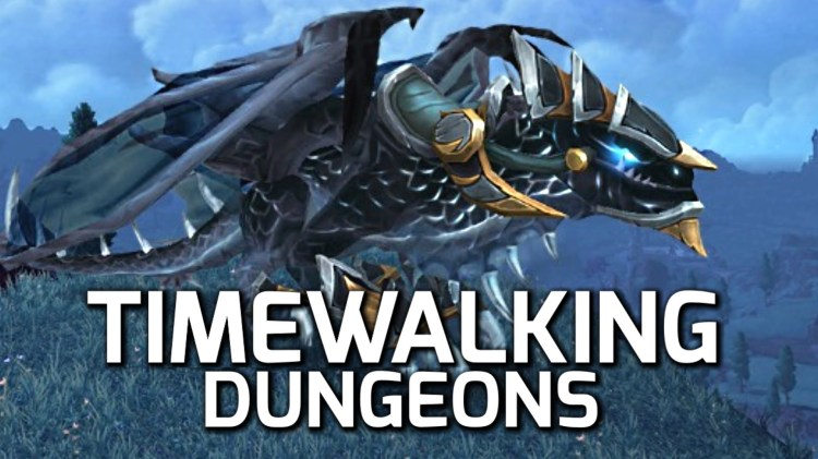 timewalking dungeons