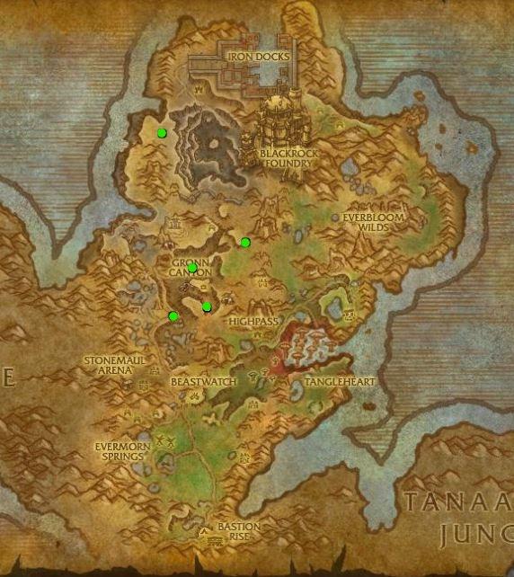 Sunhide Gronnling map_LI